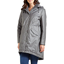 Buy Four Seasons Performance Three-Quarter Length Coat, Charcoal Online at johnlewis.com