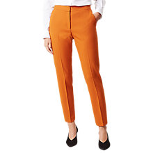 Buy Hobbs Odella Trousers, Pumpkin Orange Online at johnlewis.com