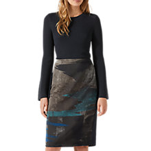Buy Jigsaw Ocean Tide Jacquard Skirt Online at johnlewis.com