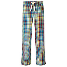 Buy John Lewis Nikon Grid Check Pyjama Bottoms, Multi Online at johnlewis.com