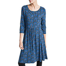 Buy Seasalt Kestrel Dress, Lino Chrysanth Fathom Online at johnlewis.com