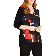 Buy Studio 8 Robyn Top, Black/Multi Online at johnlewis.com