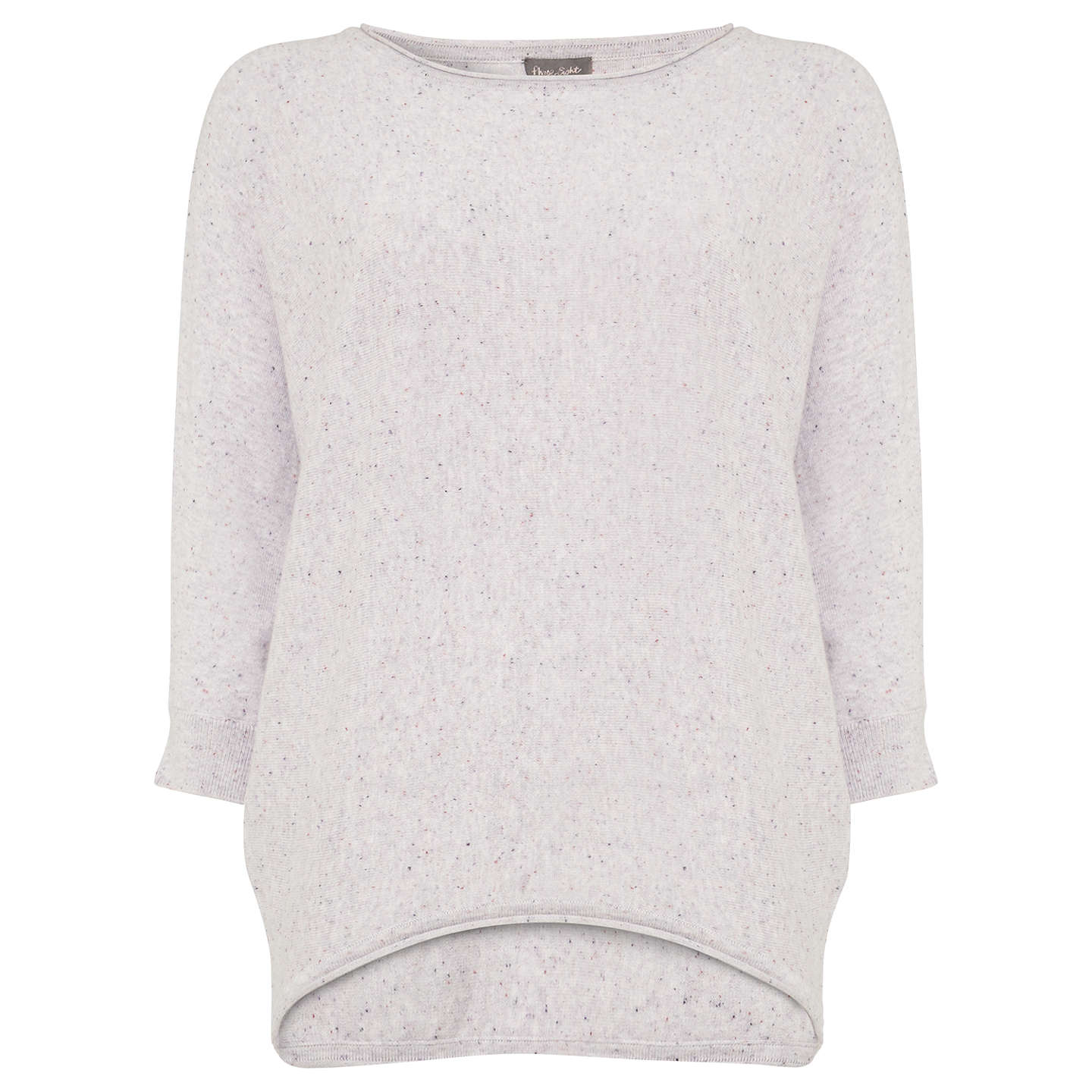 BuyPhase Eight Fleck Becca Jumper, Pansy, S Online at johnlewis.com