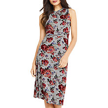 Buy Oasis Grecian Midi Dress, Multi/Grey Online at johnlewis.com