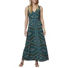 Buy East Savannah Print Maxi Dress, Multi Online at johnlewis.com