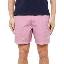 Buy Ted Baker Caddie Stripe Swim Shorts Online at johnlewis.com