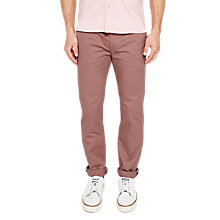Buy Ted Baker Procor Trousers, Pink Online at johnlewis.com