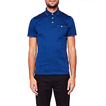 Buy Ted baker Square Jacquard Polo Shirt Online at johnlewis.com