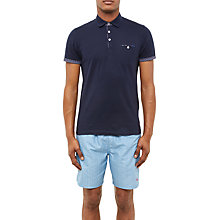 Buy Ted Baker Themiss Polo Shirt, Navy Online at johnlewis.com