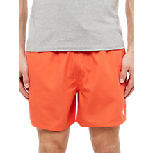 Buy Ted Baker Trayway Swim Shorts, Orange Online at johnlewis.com