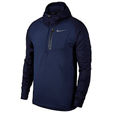 Buy Nike Therma Sphere Running Hoodie, Binary Blue Online at johnlewis.com