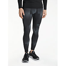 Buy Nike Pro Hyperwarm Training Tights, Black/Cool Grey Online at johnlewis.com