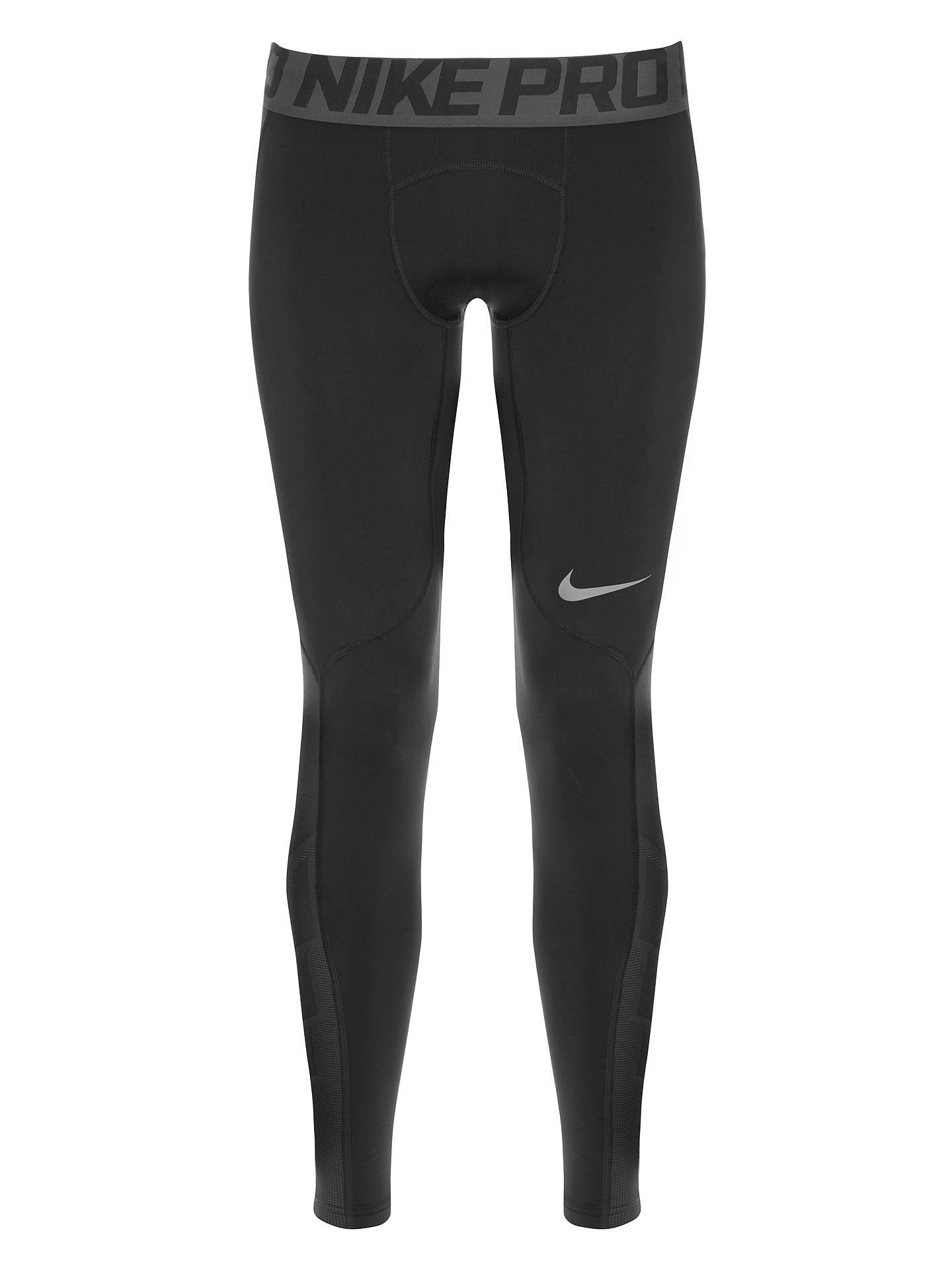 062dbaad29caf7 ... Buy Nike Pro Hyperwarm Training Tights, Black/Cool Grey, S Online at  johnlewis ...