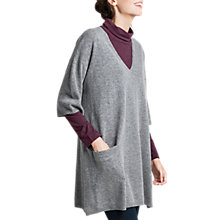 Buy Seasalt Silk Petal Jumper, Cobble Online at johnlewis.com
