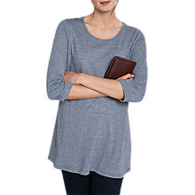 Buy Seasalt Glasney Tunic Top, Rig Night Salt Online at johnlewis.com