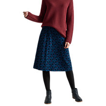 Buy Seasalt Brume Skirt, Button Flower Fathom Online at johnlewis.com
