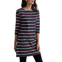 Buy Seasalt Sailor Tunic Dress, Duet Rudder Ecru Online at johnlewis.com