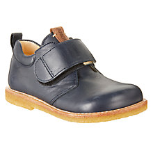 Buy ANGULUS Children's Monk Shoes, Navy Online at johnlewis.com