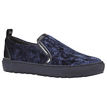Buy Geox Breeda Slip On Trainers, Dark Navy Online at johnlewis.com