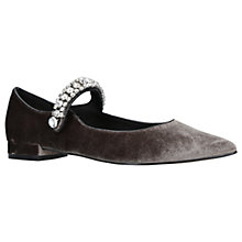 Buy KG by Kurt Geiger Kingly Embellished Ballet Court Shoes Online at johnlewis.com