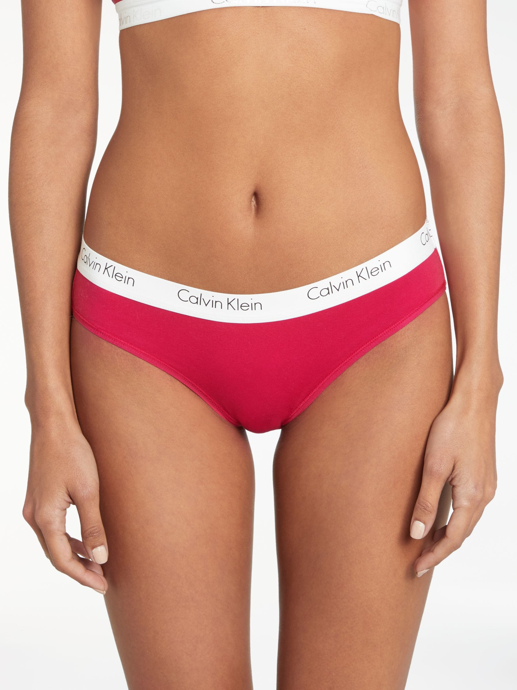 Calvin Klein Underwear CK One Cotton Bikini Briefs, Empower