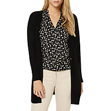 Buy Damsel in a dress Maia Plain Long Sleeve Cardigan, Black Online at johnlewis.com