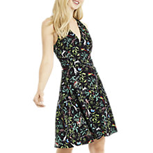 Buy Oasis ZSL Indiana Skater Dress, Multi/Black Online at johnlewis.com