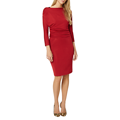 Damsel in a Dress Willow Asymmetric Neckline Pencil Dress