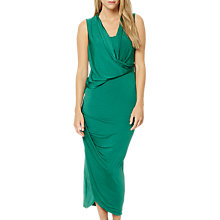 Buy Damsel in a dress Zeal Jersey Slinky Maxi Dress, Emerald Online at johnlewis.com