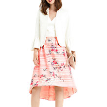 Buy Oasis Kimono Dip Hem Dress, Multi/Pink Online at johnlewis.com