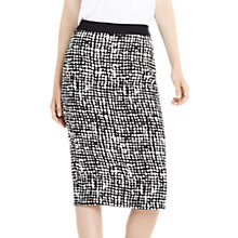 Buy Oasis Texture Print Pencil Skirt, Multi Online at johnlewis.com