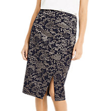 Buy Oasis Jacquard Wrap Pencil Skirt, Multi Online at johnlewis.com