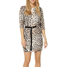 Buy Damsel in a dress Knitted Leopard Dress, Neutral Online at johnlewis.com