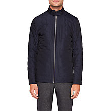 Buy Ted Baker Dalway Quilted Jacket, Navy Online at johnlewis.com