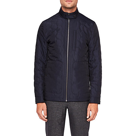 Ted baker quilted coat