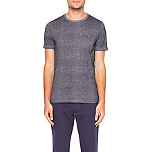 Buy Ted Baker Giovani T-Shirt, Navy Online at johnlewis.com