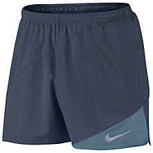 "Buy Nike Flex 5"" Running Shorts, Thunder Blue/Armoury Blue Online at johnlewis.com"