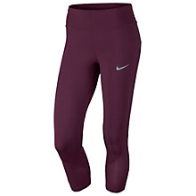 Buy Nike Power Epic Lux Cropped Running Tights Online at johnlewis.com