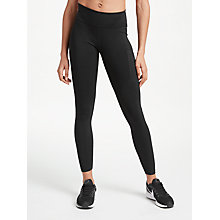 Buy Nike Power Hyper Training Tights, Black Online at johnlewis.com