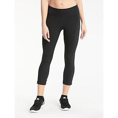 Nike Power Hyper Training Crops, Black