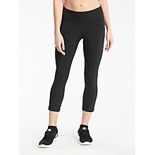 Buy Nike Power Hyper Training Crops, Black Online at johnlewis.com