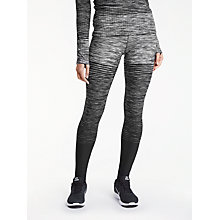 Buy Nike Pro Hyperwarm Training Tights, Dark Grey/White Online at johnlewis.com