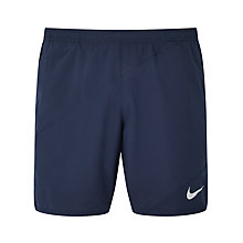 "Buy Nike Flex 7"" Running Shorts, Obsidian Online at johnlewis.com"