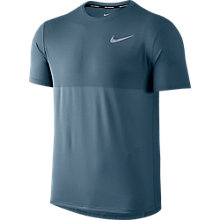Buy Nike Zonal Cooling Relay Running Top, Armoury Blue Online at johnlewis.com