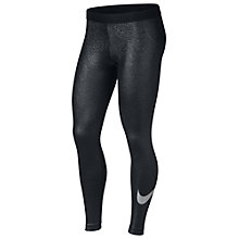 Buy Nike Pro Training Tights, Black/Metallic Online at johnlewis.com