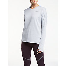 Buy Nike Therma Sphere Running Top Online at johnlewis.com