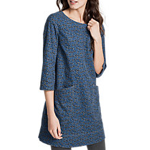 Buy Seasalt Boat Yard Tunic, Square Flower Cherit Online at johnlewis.com