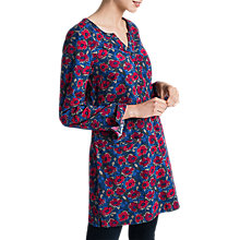 Buy Seasalt Terrazzo Tunic Dress, Envelope Floral Night Online at johnlewis.com