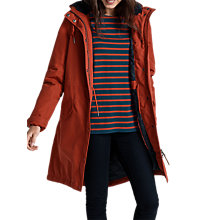 Buy Seasalt RAIN® Collection Encompass Coat, Dark Cinnamon Online at johnlewis.com