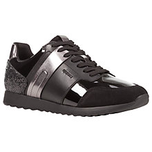 Buy Geox Deynna Glitter Lace Up Trainers Online at johnlewis.com